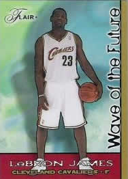 Flair 2003-04 LeBron James Wave of the Future