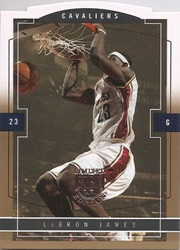2003-04 Skybox LE LeBron James Gold Proof