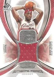 2005-06 SP LeBron James Game Used Jersey