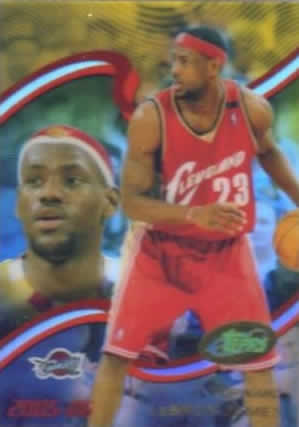 Topps 2005-06 LeBron James In-Hand