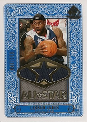 2007-08 SP LeBron James All Star Jersey